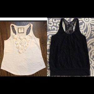 Lots of 2 Tank tops Girl women Abercrombie Express